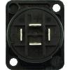 Speaker Twist Jack - Neutrik, speakON, 4-pole, panel mount image 3