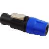 Plug - speakON, 4-Pole, Chuck Type Strain Relief image 1