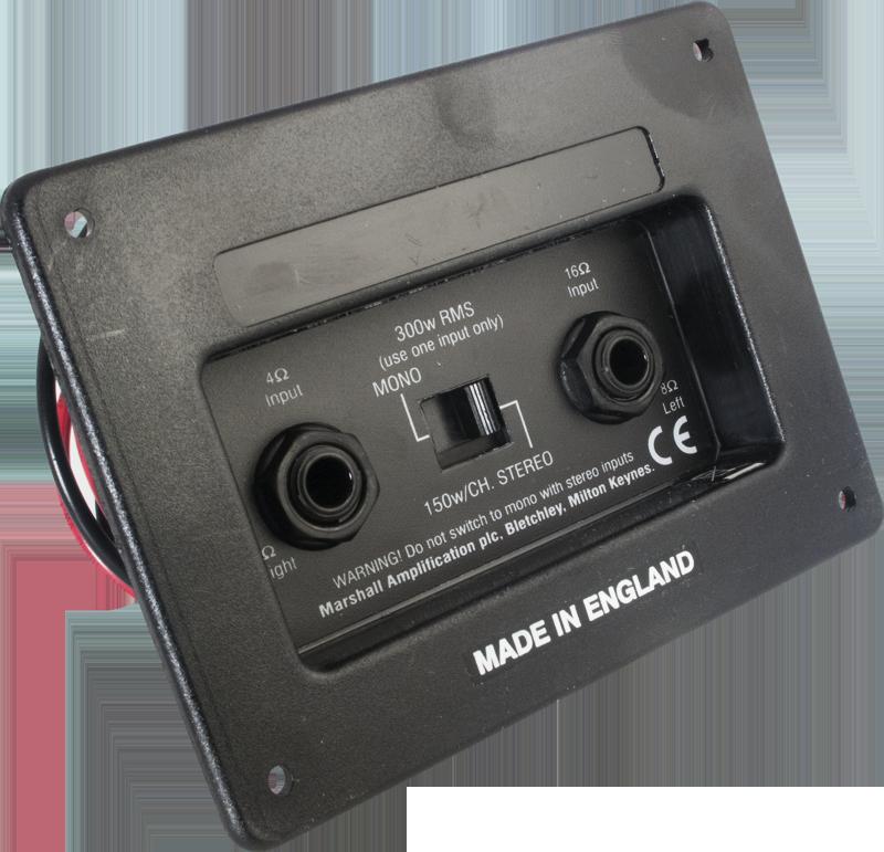 Jack Plate Marshall Switchable Stereo Mono Ce